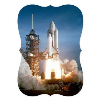 Lanzamiento de Columbia del transbordador espacial Invitación 12,7 X 17,8 Cm