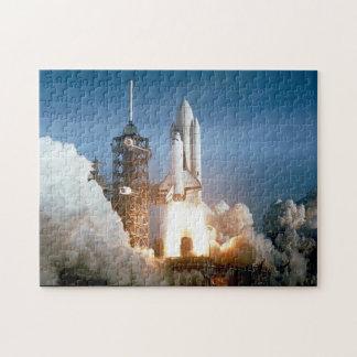 Lanzamiento de Columbia del transbordador espacial Puzzle