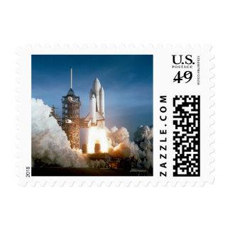 Lanzamiento de Columbia del transbordador espacial Sello