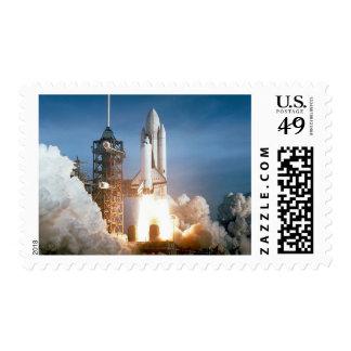 Lanzamiento de Columbia del transbordador espacial Sellos