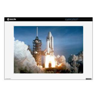 Lanzamiento de Columbia del transbordador espacial Skins Para 38,1cm Portátil