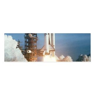 Lanzamiento de Columbia del transbordador espacial Tarjeta De Visita