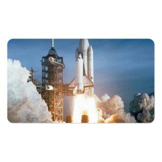 Lanzamiento de Columbia del transbordador espacial Tarjetas Personales