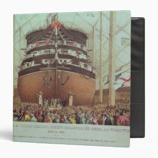 Lanzamiento de H.M.S. Royal Albert, vapor del