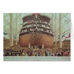 Lanzamiento de H.M.S. Royal Albert, vapor del torn Felicitaciones