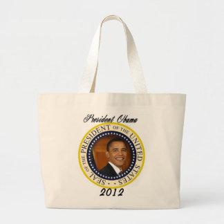 Lanzamiento de la campaña de presidente Obama 2012 Bolsa Tela Grande