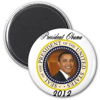 Lanzamiento de la campaña de presidente Obama 2012 Imán Para Frigorífico