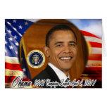 Lanzamiento de la campaña de presidente Obama 2012 Felicitación