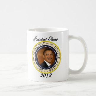 Lanzamiento de la campaña de presidente Obama 2012 Tazas De Café