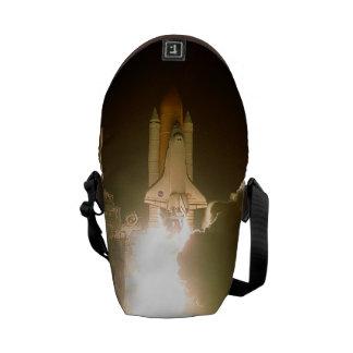 Lanzamiento de la nave espacial bolsas de mensajeria
