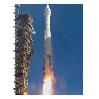 Lanzamiento de la nave espacial de Landsat Spiral Notebooks