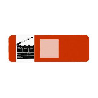 Lanzamiento de la película etiqueta de remitente