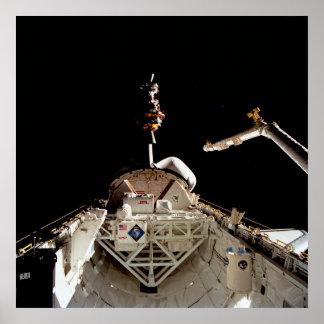 Lanzamiento de LAGEOS II de la lanzadera Columbia Posters
