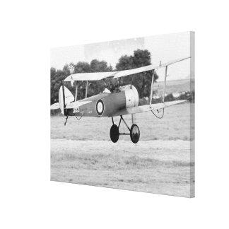 Lanzamiento de los aviones de Sopwith Lona Envuelta Para Galerias