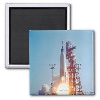 Lanzamiento de Mercury MA-9 del proyecto, fe 7 Iman Para Frigorífico