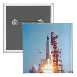 Lanzamiento de Mercury MA-9 del proyecto, fe 7 Pins