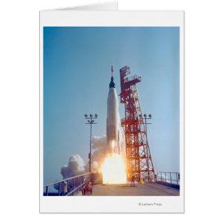 Lanzamiento de Mercury MA-9 del proyecto, fe 7 Tarjeta
