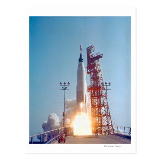 Lanzamiento de Mercury MA-9 del proyecto, fe 7 Tarjeta Postal