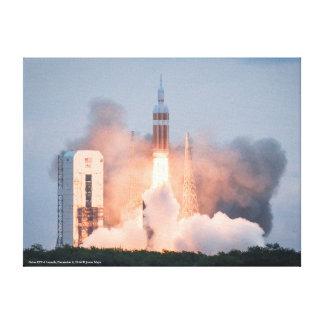 Lanzamiento de Orión EFT-1 Impresión En Tela