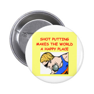 lanzamiento de peso poniendo al putter pin redondo 5 cm