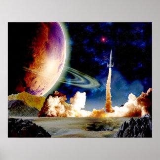 Lanzamiento de Rocket Posters