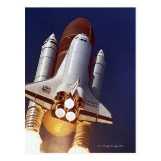 Lanzamiento de Rocket Tarjeta Postal