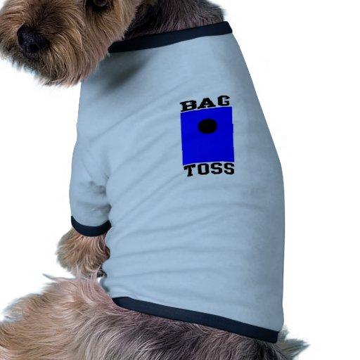 Lanzamiento del bolso ropa de mascota