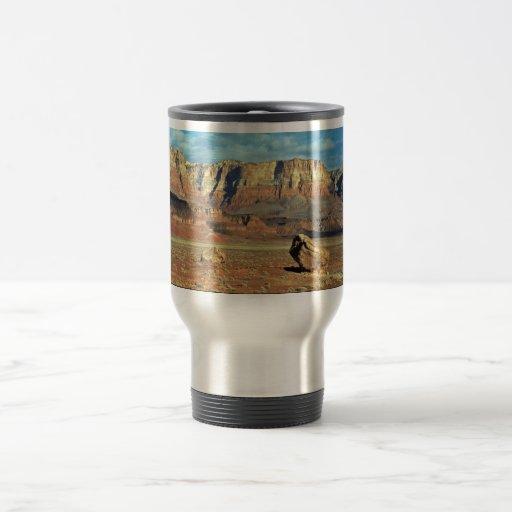 Lanzamiento del cóndor taza de café