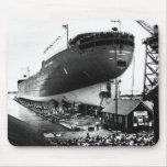 Lanzamiento del Edmund Fitzgerald 6-8-1958 (#1) Alfombrilla De Ratón