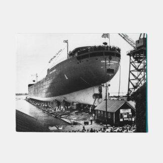 Lanzamiento del Edmund Fitzgerald Great Lakes Felpudo