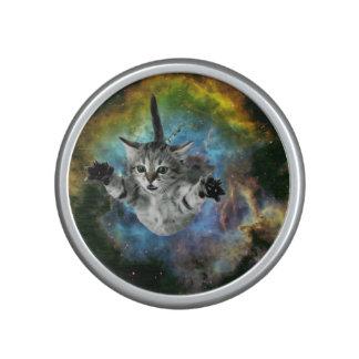 Lanzamiento del gatito del universo del gato de la altavoz bluetooth