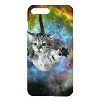 Lanzamiento del gatito del universo del gato de la funda para iPhone 7 plus