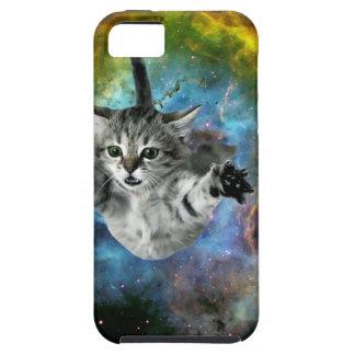 Lanzamiento del gatito del universo del gato de la funda para iPhone SE/5/5s