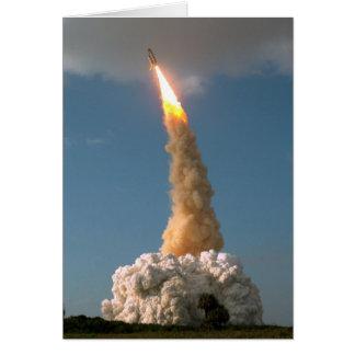 Lanzamiento del telescopio de NASAs Hubble Tarjeton