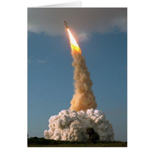 Lanzamiento del telescopio de NASAs Hubble Tarjeta De Felicitación
