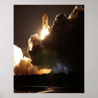 Lanzamiento del transbordador espacial Columbia (S Posters