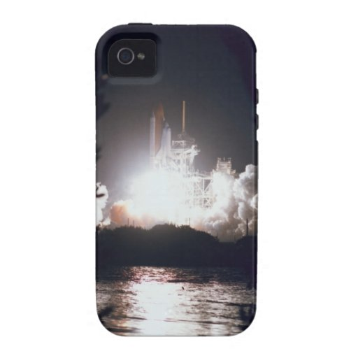 Lanzamiento del transbordador espacial iPhone 4/4S carcasa