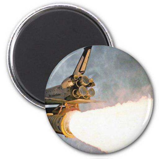 Lanzamiento del transbordador espacial imanes
