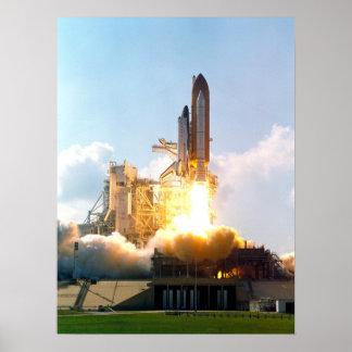 Lanzamiento del transbordador espacial la Atlántid Impresiones