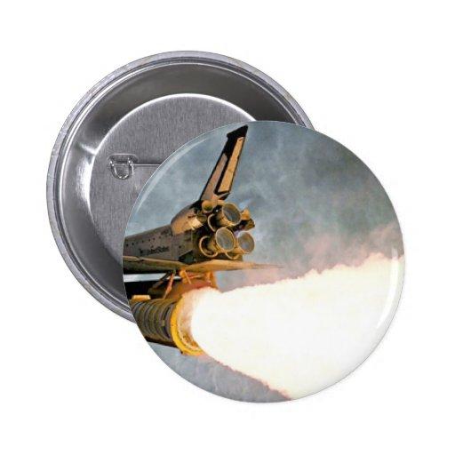 Lanzamiento del transbordador espacial pins