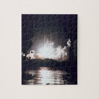 Lanzamiento del transbordador espacial puzzle con fotos