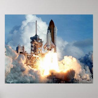 Lanzamiento del transbordador espacial STS-106 Poster