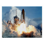 Lanzamiento del transbordador espacial STS-106 Póster