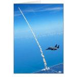 Lanzamiento final del transbordador espacial la At Tarjeta