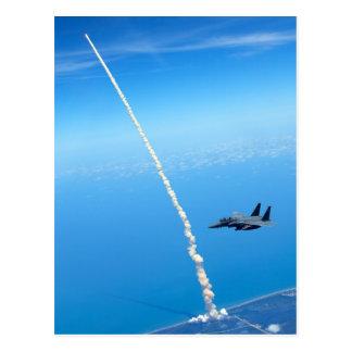Lanzamiento final del transbordador espacial la At Tarjetas Postales
