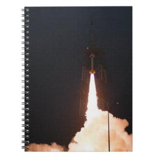 Lanzamiento orbital sub de Rocket Libro De Apuntes Con Espiral