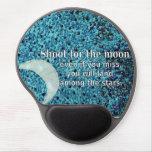 Lanzamiento para la luna alfombrillas de raton con gel