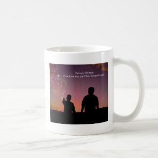 Lanzamiento para la luna taza de café