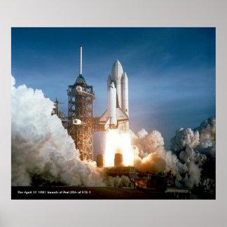 Lanzamiento STS-1 Impresiones