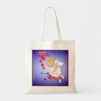 Lanzamientos del Cupid para el corazón Bolsa De Mano